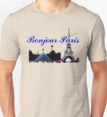 Beautiful  Luvoure museum ,Effel tower Paris france graphic art T-Shirt