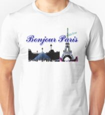 Beautiful  Luvoure museum ,Effel tower Paris france graphic art T-Shirt