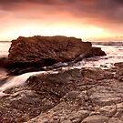 Dawn-Black Head-NSW Mid North Coast by Rodney Trenchard