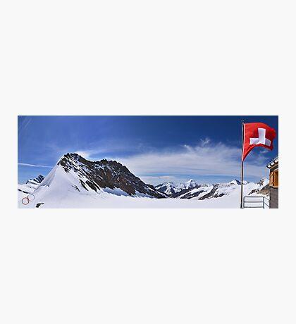 Jungfraujoch Views - the Spirit of Switzerland Photographic Print
