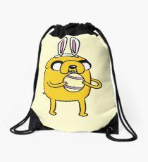 Easter Bunny Jake - Adventure Time Drawstring Bag