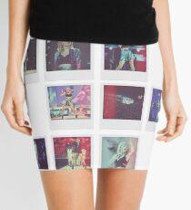 Tour Polaroid Collage  Mini Skirt