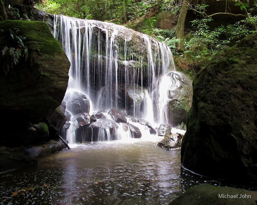Majestic Waterfall by Michael John