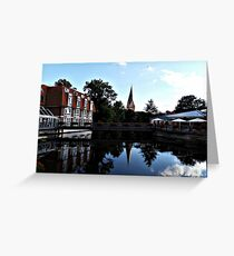 Beautiful nature of Luneburg Germany Greeting Card