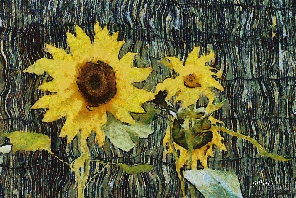 Sunflowers by Gilberte