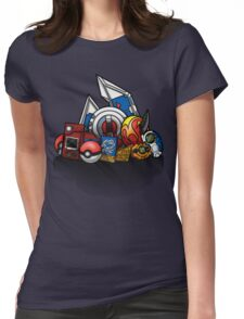 Anime Monsters Womens Fitted T-Shirt