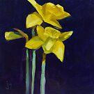 Daffodil Gold by JohnnaArt