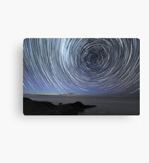 Flinders Star Trails: Ring Effect Canvas Print