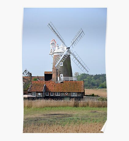 Cley Windmill from the east Poster