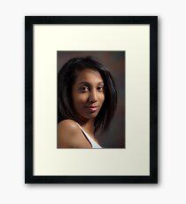 Big Brown Eyes #15 Framed Print
