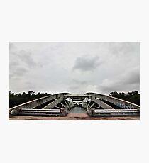 Bridge at Chandrma Uddyan , Dhaka, BANGLADESH  Photographic Print