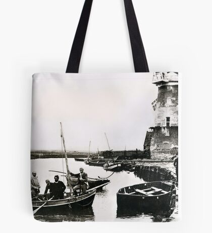 Cley windmill - the shooting party 1888 Tote Bag