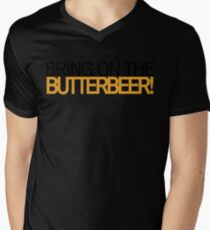 Bring on the Butterbeer! Mens V-Neck T-Shirt