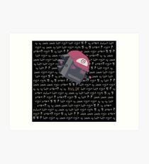 The Voices - Helix Art Print