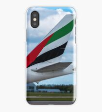 Emirates Airlines Boeing 777 tail livery iPhone Case