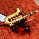 Saxophone Before the Parade by Susan Savad