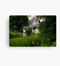 House Full of Memories Canvas Print