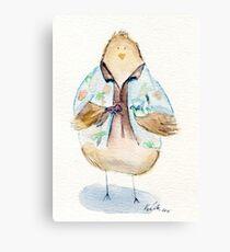 Hoban Washbird- Firefly Nerdy Birdy Canvas Print