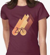 Zyklus die Lücken Tailliertes T-Shirt für Frauen