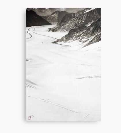 The Long Cold Walk Metal Print