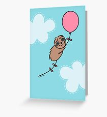 Little Birthday Sloth Greeting Card