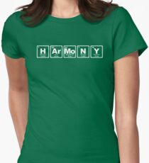 Harmony - Periodic Table Women's Fitted T-Shirt