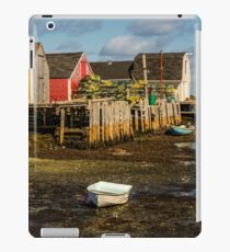 Blue Rocks, Nova Scotia iPad Case/Skin