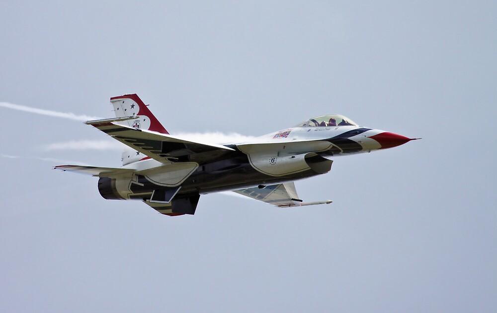 USAF Thunderbirds F16 Fighting Falcon by PhilEAF92