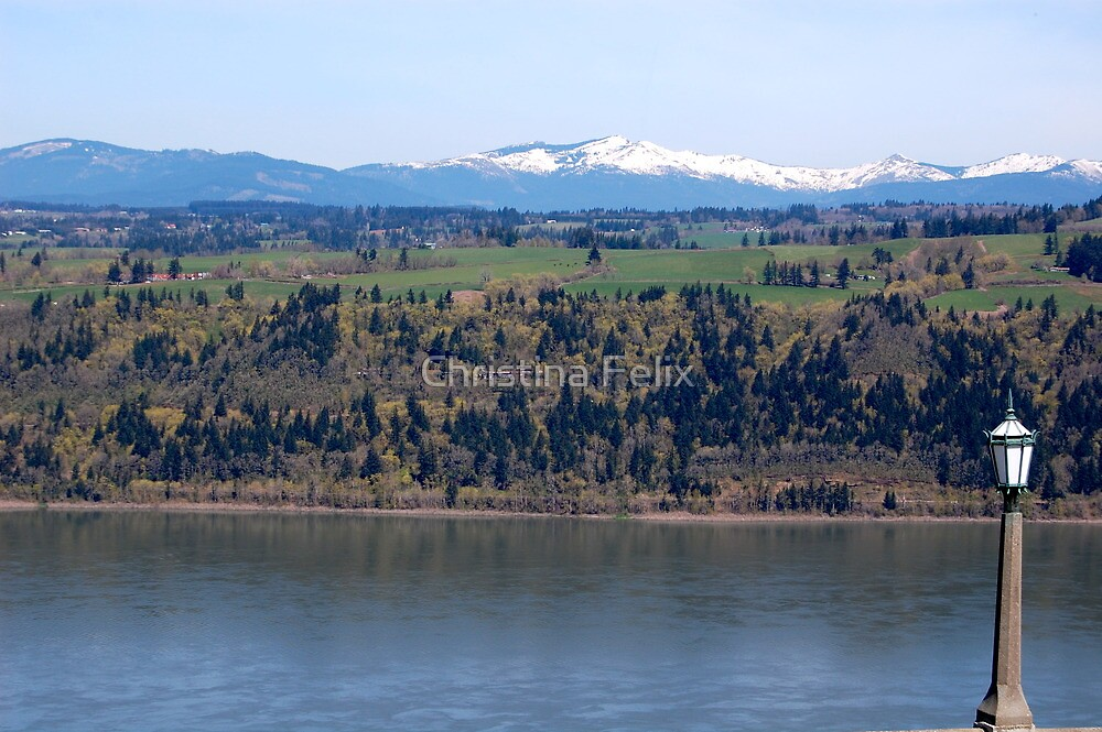 View of Columbia river from Crown Point by quiquilee