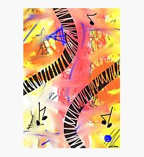 Music - Unique Abstract Art Photographic Print