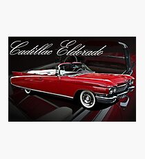 1960 Cadillac 62 Series Convertible El Dorado Photographic Print