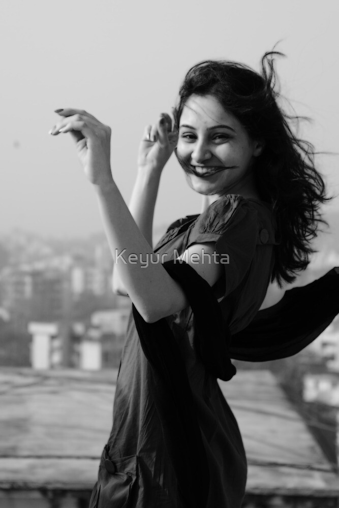 in the moment of great feeling..so real and so fun. by Keyur Mehta