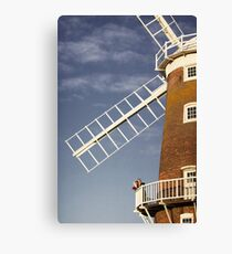 Cley Windmill - Love in the air Canvas Print