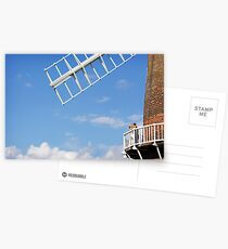Cley Windmill - Love is in the air Postcards