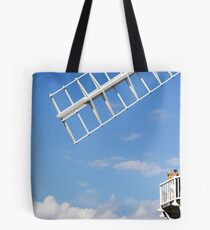 Cley Windmill - Love is in the air Tote Bag