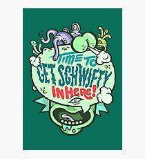 Get Schwifty (dark) Photographic Print