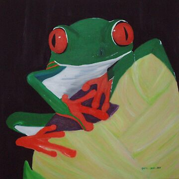 Green Tree Frog by Rachel71