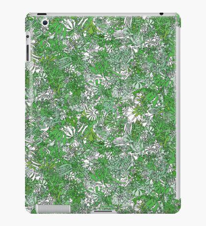 Colourful green plants iPad Case/Skin
