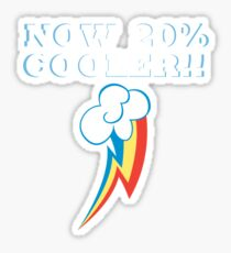 20% Cooooler! Sticker