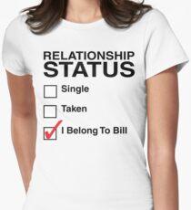 TRUE BLOOD I BELONG TO BILL Women's Fitted T-Shirt