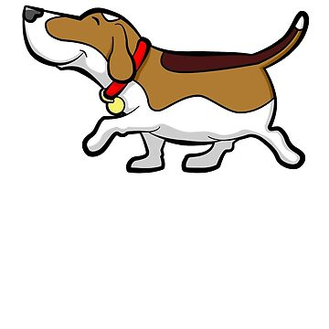 Happy Beagle by davidicon