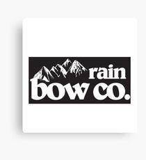 Rain Bow Co. - Mountains Canvas Print