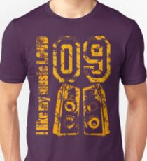 i like my music LOUD - Grunge Unisex T-Shirt