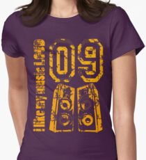 i like my music LOUD - Grunge T-Shirt