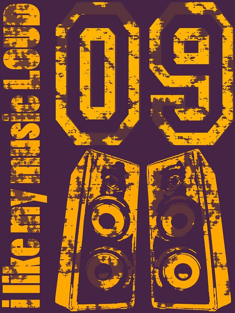 i like my music LOUD - Grunge by ilikeitloud