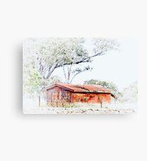 The Old Hut © Vicki Ferrari Photography Canvas Print