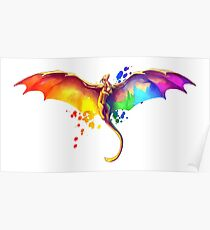 Pride Dragon Poster