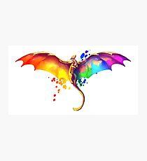 Lámina fotográfica Orgullo Dragón