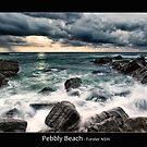 Pebbly Beach - Forster NSW by JayDaley