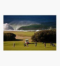Wollongong Golf Club Photographic Print